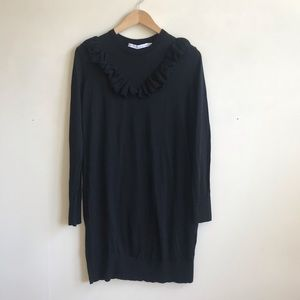 & Other Stories 100% Wool Tunic Sweater Dress
